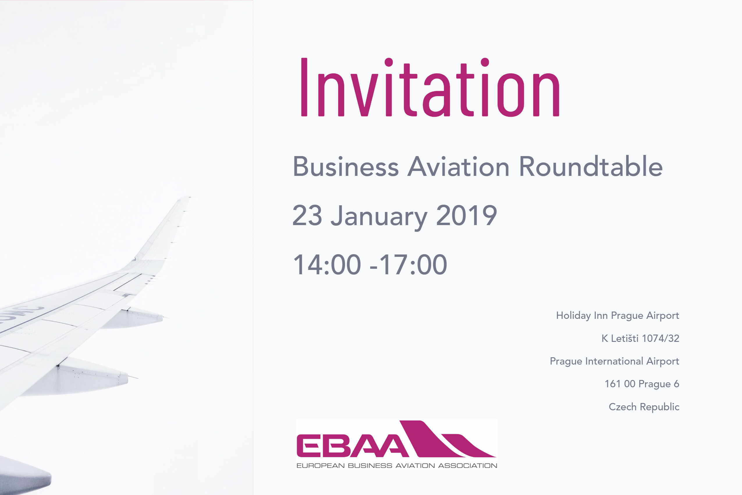 Business Aviation Roundtable Prague